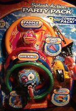 Pool Toys For Kids Swimming Dive Sticks Diving Rings Swim Beach Bath Fun 9 Piece