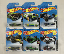 HOT WHEELS  LOT / BUNDLE OF 6 RACE DAY CARS & ROD SQUAD & X-RACERS CARS !! NEW