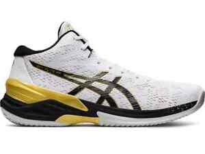 ASICS Volleyball Shoes SKY ELITE FF MT 1051A032.100 White/Black【RANK N】