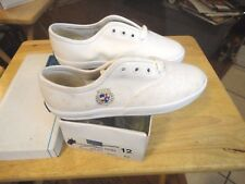 Keds Child's White Seacrest Canvas Oxford Size 12 M