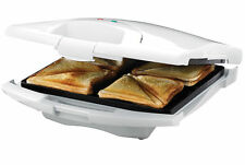 Tiffany SMT068 4 Slice Sandwich Maker - White