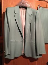 Tailleur gonna in pura lana vergine - Taglia 48 - Made in Italy.