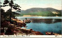 New York NY Crows Nest Hudson River Postcard Old Vintage Card View Standard Post