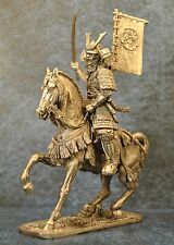 Tin Soldiers * Cavalry figure * Equestrian samurai 16-17 centuries. * 54-60 mm