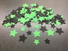 200 Green And Black Halloween Star Table Confetti