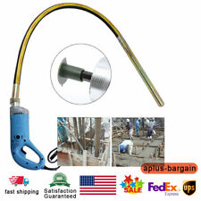 1300W Handheld Electric Concrete Vibrator Highspeed Cement Air Bubble Remover Us