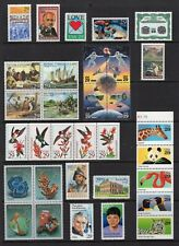 US 1992 NH Commemorative Year 2611-23 2630-46 2697-2720 53 Stamps -Free USA Ship
