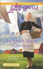 An Amish Match (Amish Hearts) by Brown, Jo Ann, Good Book