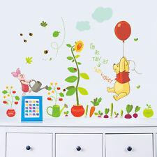 Removable Cute Winnie The Pooh Wall Sticker Vinyl Decals Nursery Baby Room Decor