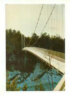 LA PASSERELLE, FOOT BRIDGE, CHARNY, QUEBEC, CANADA CHROME POSTCARD