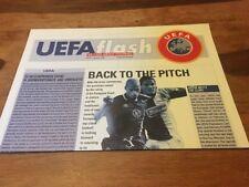 RARE Official UEFA Flash Magazine #57 - January 1996