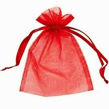 5PCS Gift Bags Wedding Party Favour Xmas Jewellery Candy Pouches 10x14