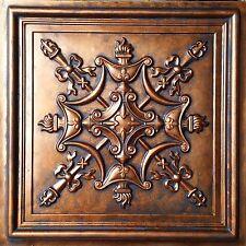 Ceiling tiles Archaic coppery faux tin backdrop cafe club panel PL07 10tile/lot