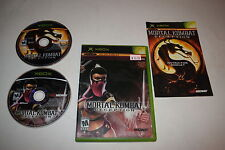 Mortal Kombat Deception Kollectors Edition Microsoft Xbox Video Game Complete
