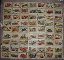 63 Chromo Chocolat / Superchocolat Jacques - Série AUTOS 1954 - BE