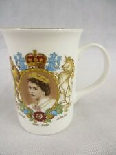 Queen Elizabeth II Golden Jubilee 1952 2002 Commemorative Mug Woodstock Souvenir