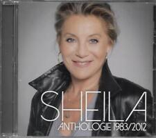 CD 15 TITRES SHEILA ANTHOLOGIE 1983/2012 BEST OF 2017 NEUF SCELLE INCLUS DENSE..