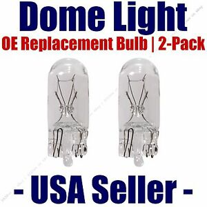 Dome Light Bulb 2-Pack OE Replacement - Fits Listed Buick Vehicles - 2825