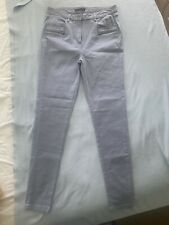 Marks And Spencer Size 12 Jeans Dusty Blue Long Length