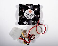 AAVID AFB0512MA 12 Volt Fan 0.15A With 4 Pin Connectors used in GWO