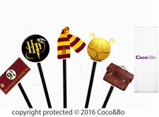 Coco&Bo - Magical Wizarding Cupcake Picks Harry Potter Inspired Party Decoration