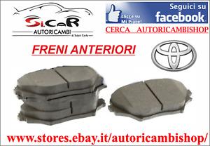 SERIE PASTIGLIE FRENO ANTERIORI TOYOTA RAV 4 II (_A2_) 1.8 - 2.0 4WD - 2.0 D 4WD