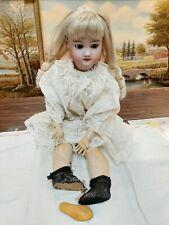 Vintage German Bergmann halbig S & H porcelain jointed composition Doll antique