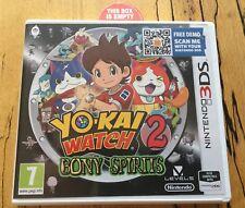 Promo Yo-Kai Watch 2 Bony Spirits Nintendo 3DS Replacement EMPTY Game Case