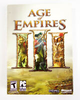 Age of Empires III (PC, 2005) 3 CDROM Complete Manual and Reference Guide CDKEY