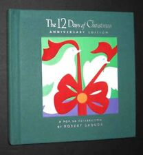 Robert Sabuda~12 DAYS OF CHRISTMAS~SIGNED 1st PRINTING~Pop-Up-Book~Xmas gift!