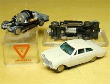 1960s Rasant W German White Ford Taunus HO Slot Car NOS