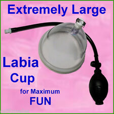 Labia Pumping >>Super  Sized Labia and Clitoral enlargement 4 max size & fun.