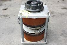 Dual variable voltage transformer variac 240v