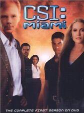 Brand New DVD CSI: Miami - The Complete First Season (2002) David Caruso Emily