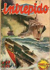 intrepido 1951 n.49  intrepido n. 49 anno 1951 Raro 1° edizione 1951 ed.Universo