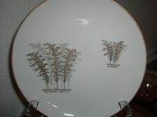 FUKUGAWA GOLD BAMBOO 901 SET OF 3 SALAD PLATES