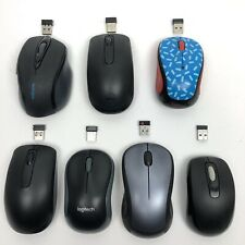 Wireless Bluetooth Computer Mouse Lot of 7 WORKS Logitech Dell Kingston