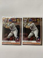 2019 Topps Chrome Update Series #86 Pete Alonso RC ASG New York Mets Lot PA1