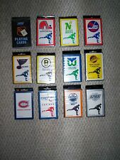 QUEBEC NORDIQUES PLAYING CARDS