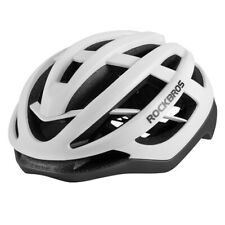 RockBros Riding Bicyle Ultralight Helmet Magnetic Buckle Size L 58-61cm White