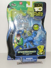 BANDAI BEN 10 SPIDERMONKEY ALIEN FORCE COLLECTION 27437 NEW ON CARD RARE