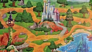Baby Kid Disney Play Mat Foam Floor Child Activity Disney Princess Mat Baby Care