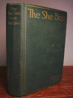 The She Boss Arthur Preston Hankins Western 1st Edition First Printing Fiction