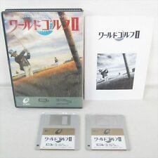 msx WORLD GOLF II 2 ENIX Msx2 3.5 2DD Japan Video Game 0962 msx