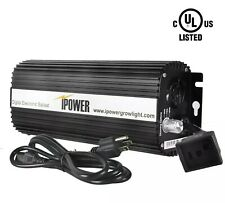 iPower 1000W Digital Dimmable Electronic Ballast for HPS MH Grow Light