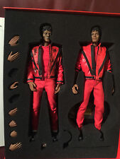 TWO FIGURES Hot Toys Michael Jackson THRILLER 1/6 Scale - UK Seller