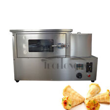 Commercial Cone Forming Maker Machine Rotational Pizza Oven 110V Kitchen Cook