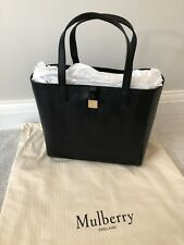Mulberry Tessie Tote Bag - Black - New With Tags