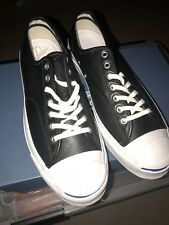 Men's Leather Converse Jack Purcell Black Size 11 $140