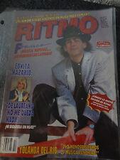 RITMO revista Magazine Mexico Franco  Mexico musica 1986 classico  80s